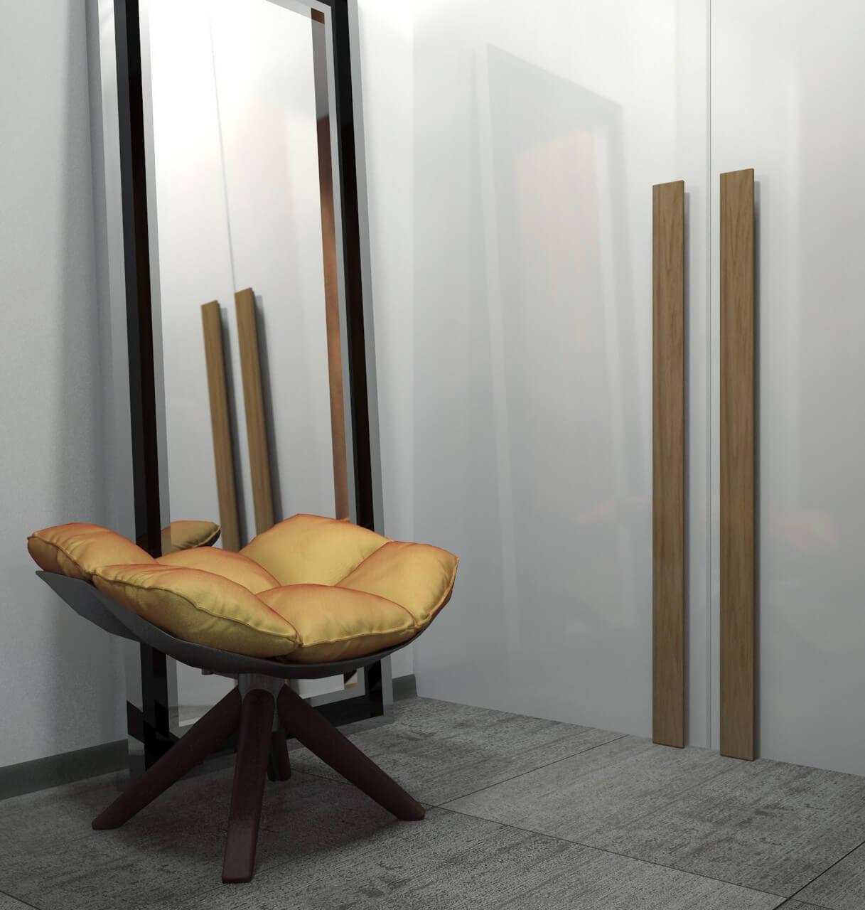 кресло в прихожей
